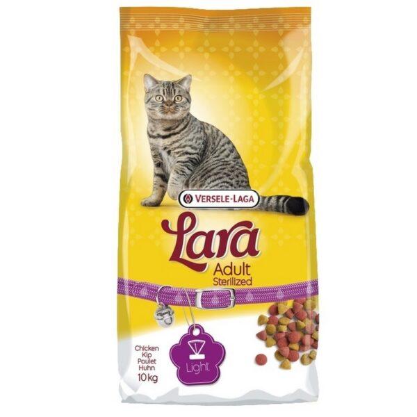 Lara Adult Steriliseret holder din steriliserede kat i balance, de vegatabilske fibre sikre mæthed uden at katten vil tage på i vægt.