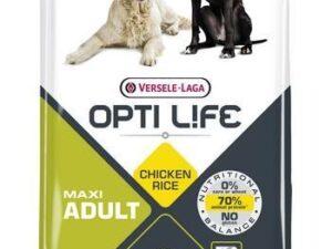 Opti Life Adult Maxi er et velsmagende foder baseret på ris og kylling til store hunde. Har du spørgsmål til fodringen af din hun, er vi altid klar til at hjælpe.