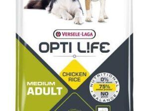 Opti Life Adult medium er et velsmagende foder baseret på ris og kylling til mellemstørrelse hunde. Har du spørgsmål til fodringen af din hun, er vi altid med hjælp