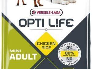 Opti Life Adult mini er et velsmagende foder baseret på ris og kylling til små hunde. Har du spørgsmål til fodringen af din hund, er vi altid klar med hjælp